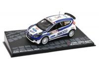 1:43 FORD Fiesta S2000 #2 M.Hirvonen/J.Lehtinen победитель Rally Monte-Carlo 2010