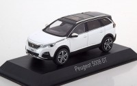1:43 PEUGEOT 5008 GT (кроссовер) 2016 Pearl White
