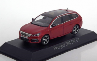 1:43 PEUGEOT 308 SW GT 2017 Ultimate Red