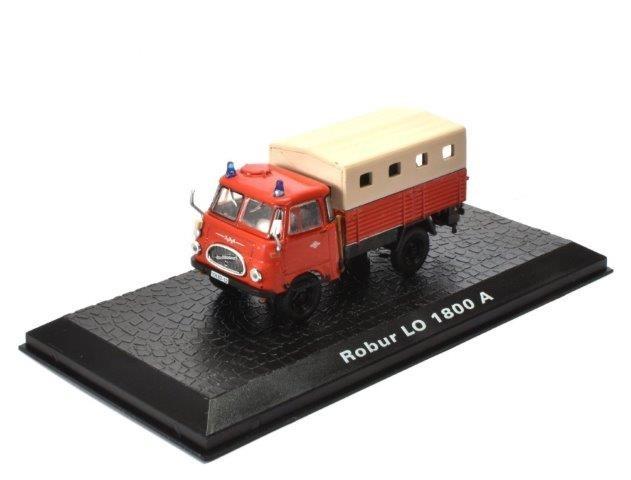 """1:72 ROBUR LO 1800 A 4x4 """"Feuerwehr"""" (бортовой с тентом) 1962"""
