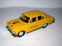 1:43 Москвич-412 такси с тамповкой Мишка