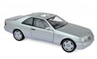 1:18 MERCEDES-BENZ 600 SEC (C140) 1992 Silver Metallic