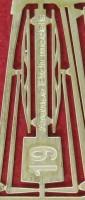 1:43 Фототравление дворники 19мм латунь