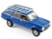 "1:43 PEUGEOT 504 Break Dangel 4x4 ""EDF"" 1982 Blue"