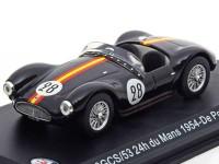 1:43 MASERATI A6GCS/53 #28 De Portago/Tomasi 24h du Mans 1954