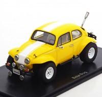 1:43 VW Baja Bug 1970 Yellow/White