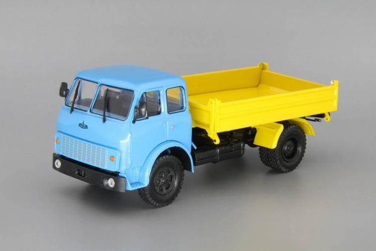 1:43 МАЗ-5111 самосвал с боковой разгрузкой, голубой