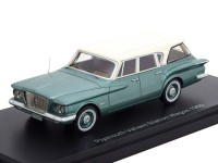 1:43 PLYMOUTH Valiant Station Wagon 1960 Metallic Green/White