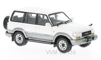 1:43 TOYOTA LAND CRUISER (LC80) 4х4 Japan 1992 Metallic White/Silver