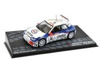 1:43 PEUGEOT 306 Maxi #14 F.Delecour/D.Grataloup Tour De Corse 1998