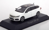 1:43 PEUGEOT 308 SW GT Line 2017 Pearl White