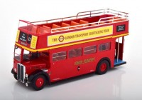 "1:43 автобус AEC Regent RT ""London Transport Sightseeing Tour"" Open-Top 1950 Red"