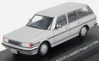 1:43 Toyota Mark II TGX70G Wagon LG Mid Model Super Silver