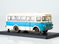 1:43 Малый городской автобус РАФ-251 (со следами эксплуатации)