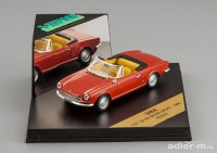 1:43 Fiat 124 AS Spider Sport 1966 (red)