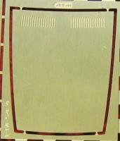 1:43 набор фототравления Накладка на капот ВАЗ-2107