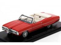 1:43 PONTIAC Bonneville Convertible 1968 Red