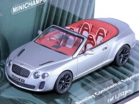 1:43 BENTLEY CONTINENTAL SUPERSPORTS Cabriolet 2010 GREY METALLIC