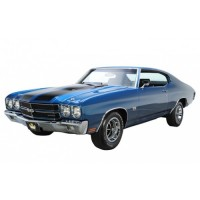 1:43 CHEVROLET Chevelle SS 1970 Blue/Black