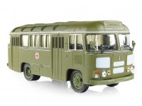 1:43 Павловский автобус 672М санитарный