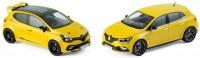 1:43 набор из 2 моделей RENAULT Clio R.S.16 & Megane R.S. 2017 Yellow