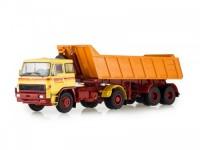 1:43 LIAZ-100.471 с полуприцепом-самосвалом 1974 Yellow/Orange