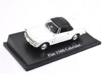 1:43 FIAT 1500 Cabriolet 1963 White