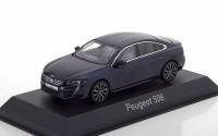 1:43 PEUGEOT 508 Sedan 2018 Dark Blue