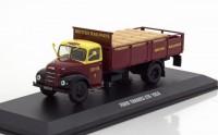 """1:43 FORD Thames ET6 """"British Railways"""" (бортовой грузовик) 1953 DarkRed/Yellow"""