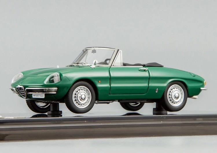 """1:43 Alfa Romeo 1600 Spider """"Duetto"""" 1966 (dark green)"""