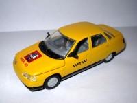 1:43 ВАЗ-2110 такси с тамповкой Москва 870