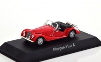 1:43 MORGAN Plus 8 1980 Red