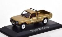1:43 PEUGEOT 504 Pick Up 4x4 Dangel 1985 Beige Metallic
