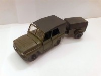 1:43 УАЗ-469 c прицепом
