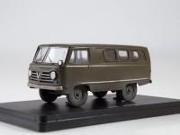 1:43 УАЗ-450 опытный (со следами эксплуатации)