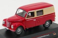 1:43 IFA FRAMO V901/2 KASTENWAGEN (фургон) 1954 Red