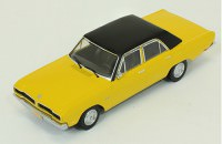 1:43 DODGE DART Gran Sedan 1976 Yellow/Black Roof