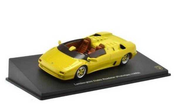 1:43 LAMBORGHINI Diablo Roadster (Prototip) 1992 Yellow