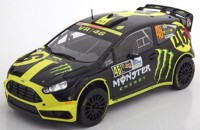 1:18 FORD Fiesta RS WRC #46 Monster V.Rossi/C.Cassina Rally Monza 2014