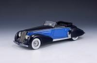1:43 DUESENBERG J Graber Convertible 1934 Dark Blue/Blue