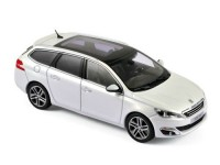 1:43 PEUGEOT 308 SW 2013 Pearl White