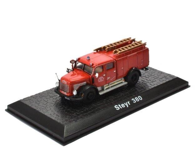 """1:72 STEYR 380 """"Feuerwehr Bregenz"""" пожарная 1960"""
