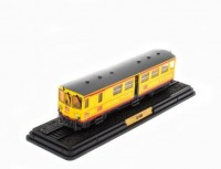 1:87 Z-105 (L'AUTOMOTRICE DU TRAIN JAUNE) 1909 Yellow/Grey
