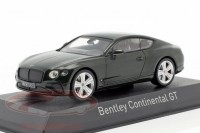 1:43 BENTLEY New Continental GT 2018 British Racing Green