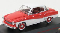 1:43 WARTBURG 311 COUPE 1958 Orange and Cream
