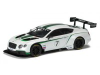 1:43 BENTLEY Continental GT3 Launch Car #7 2012