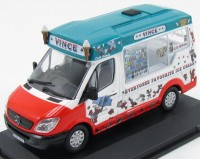 1:43 MERCEDES-BENZ SPRINTER Van Vince Ice Cream  Whitby Mondial 2015