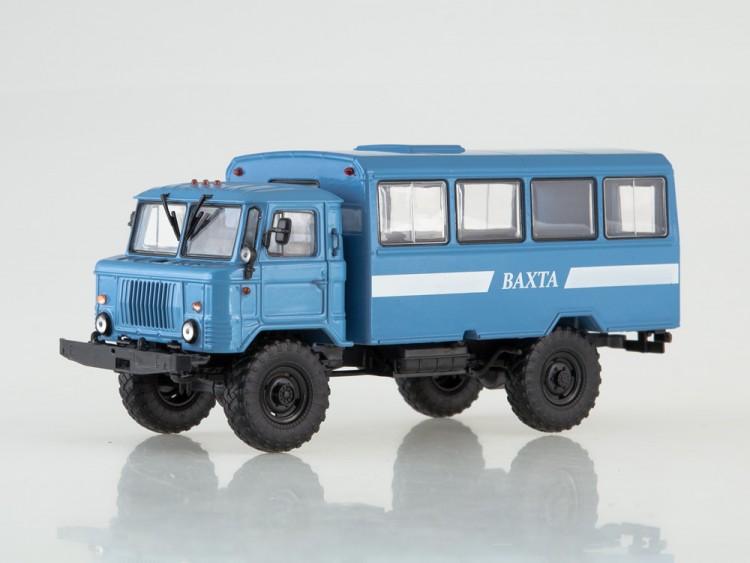 1:43 Вахтовый автобус НЗАС-3964 (66)