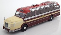 1:43 автобус KRUPP Titan 080 1951 Dark Red/Beige