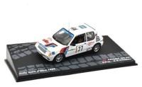 1:43 PEUGEOT 205 GTI #27 P.Riva/M.G.Vittadello Rally Isola D'elba 1985